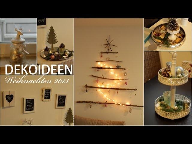 8 DEKOIDEEN Weihnachten 2015 ❤