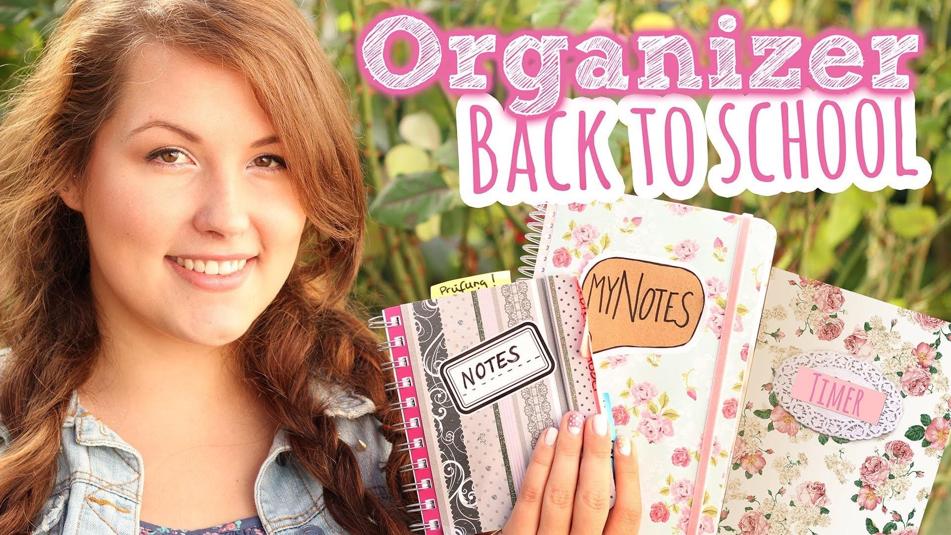 BACK TO SCHOOL DIY Organizer