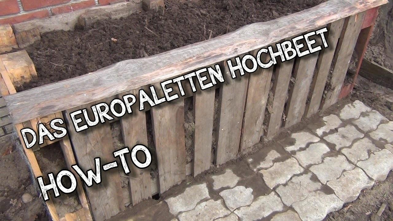 Das Europaletten Hochbeet How-To | der AUSSTEIGER