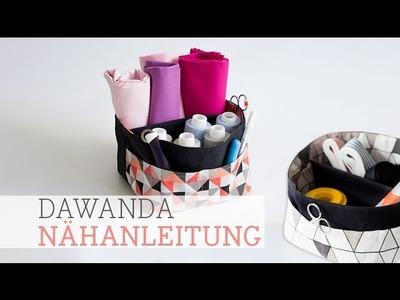 DaWanda Nähanleitung: Utensilo Beutel