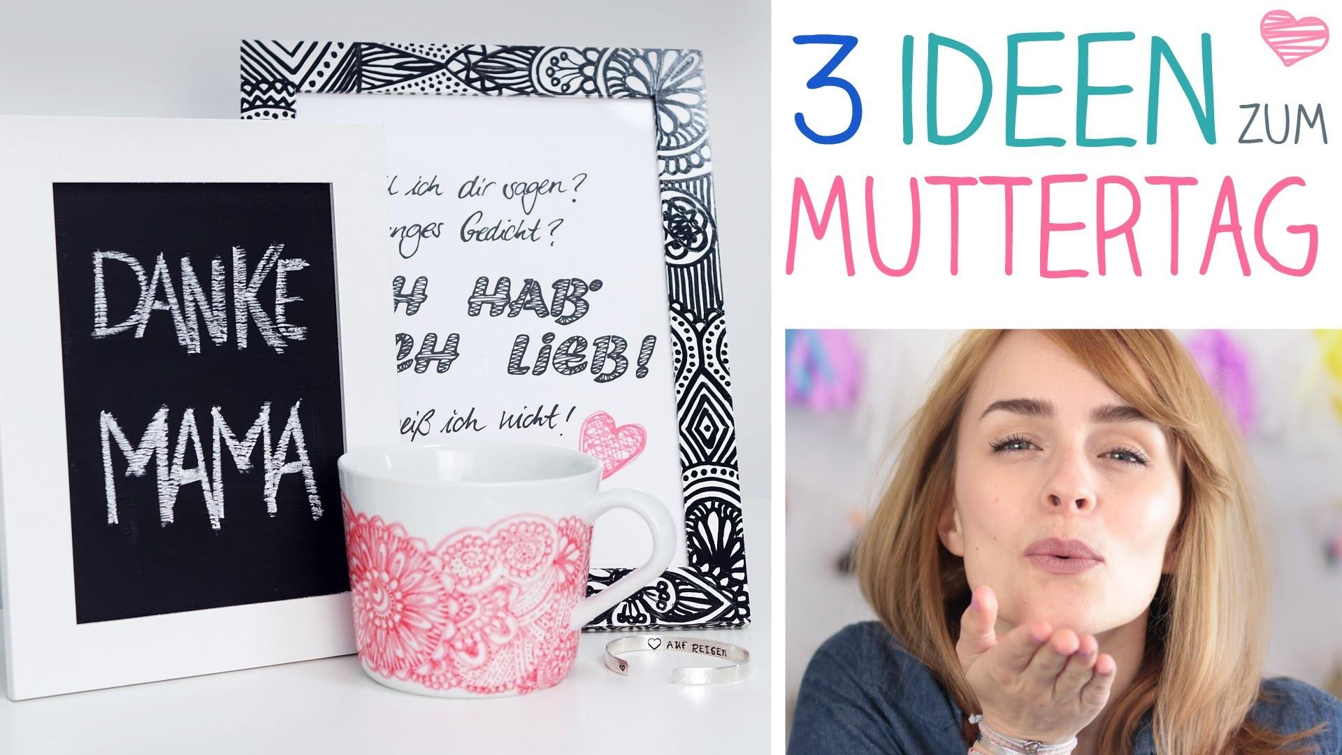 DIY 3 Muttertag Ideen, individuell, einfach - alive4fashion (enth. Produktplatzierung)