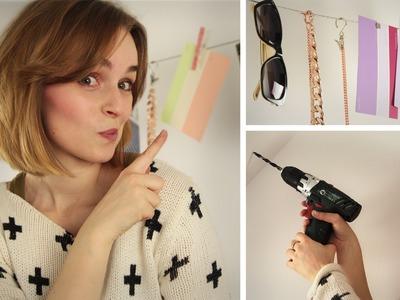 DIY Foto Aufhängung - Ketten Aufbewahrung - Deko Seil