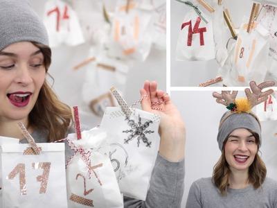 DIY last minute Adventskalender - einfach aus Tüten - alive4fashion - #a4fadvent