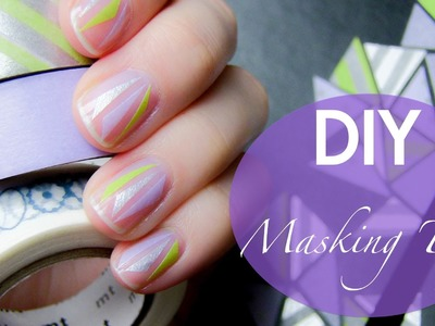 DIY Ways to use Masking Tape. Washi Tape