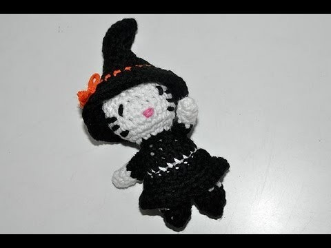 Häkeln * Halloween Kitty Teil #1 * Amigurumi