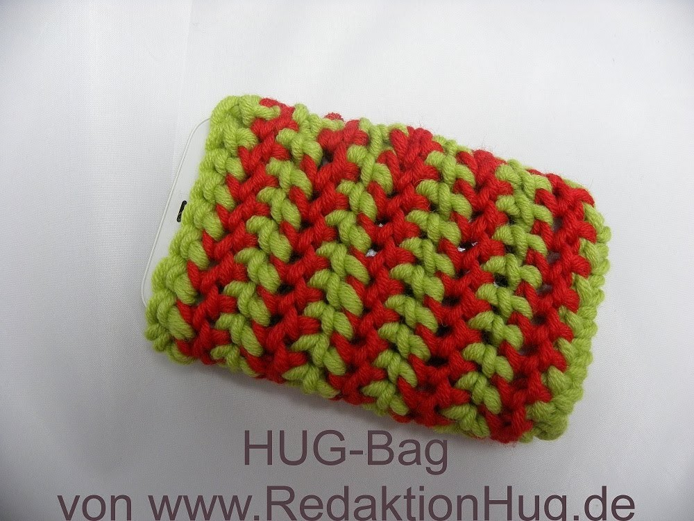 Häkeln - HUG-Bag für IPhone