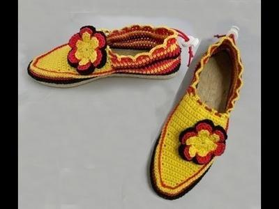 Häkeln - Schuhe - WM Special - Espadrilles