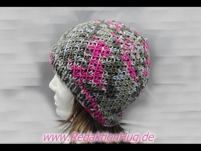 Knooking - Mütze im Flechtmuster aus hatnut fresh von Pro Lana