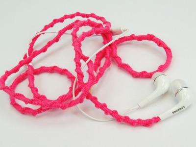 Kopfhörer DIY | Kopfhörer mit Wolle ummanteln | Bunte Kopfhörer | Anleitung