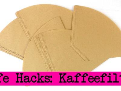 Life Hacks Top 4: Kaffee Filter - Aufbewahrung, Geschenkideen, Tipps & Tricks - DIY