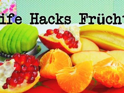 Life Hacks Top 5: Früchte. Obst Tipps und Tricks + Bonustipp! | Life Hacking | deutsch