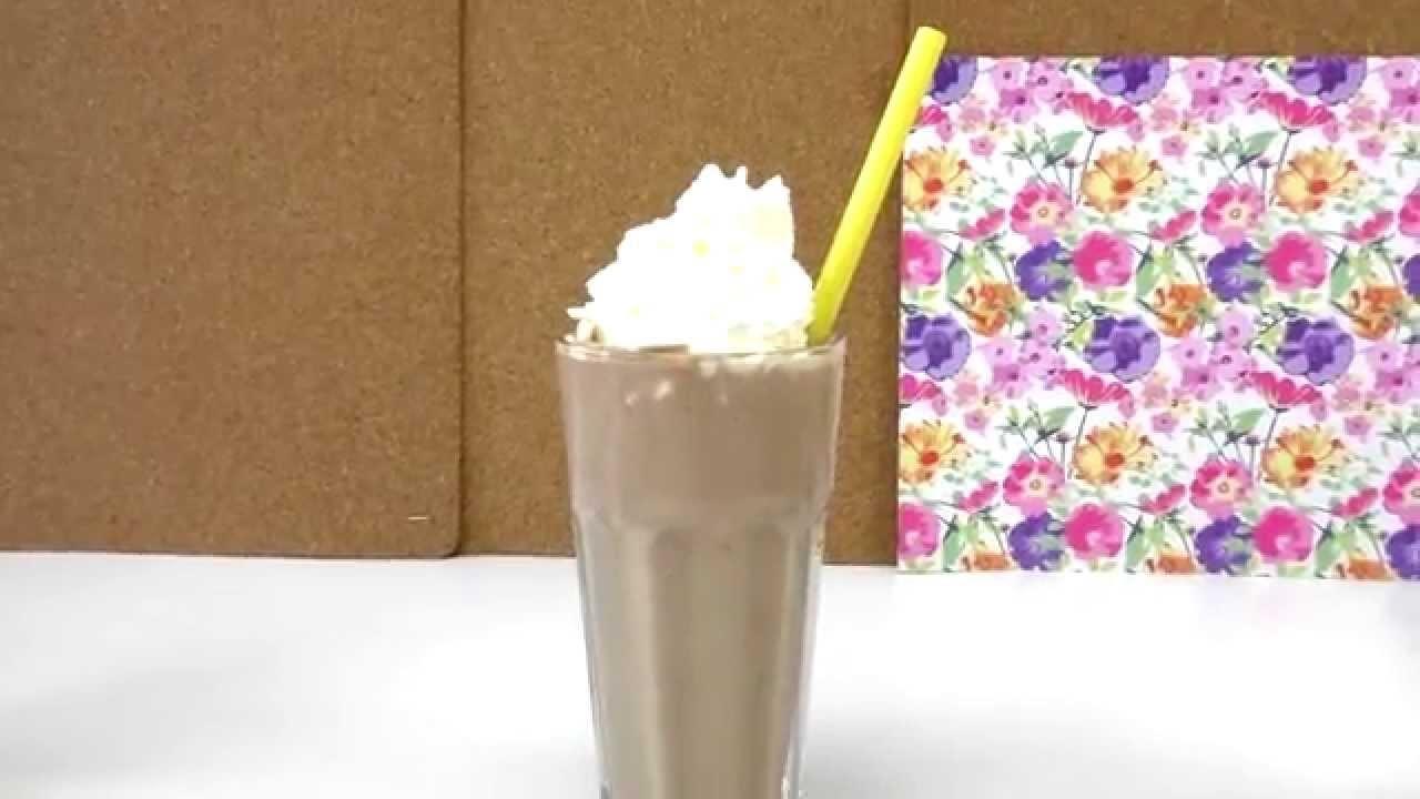 NUTELLA MILKSHAKE DIY. Milch Shake mit Nutella und Banane selber machen deutsch Milkshake Tutorial