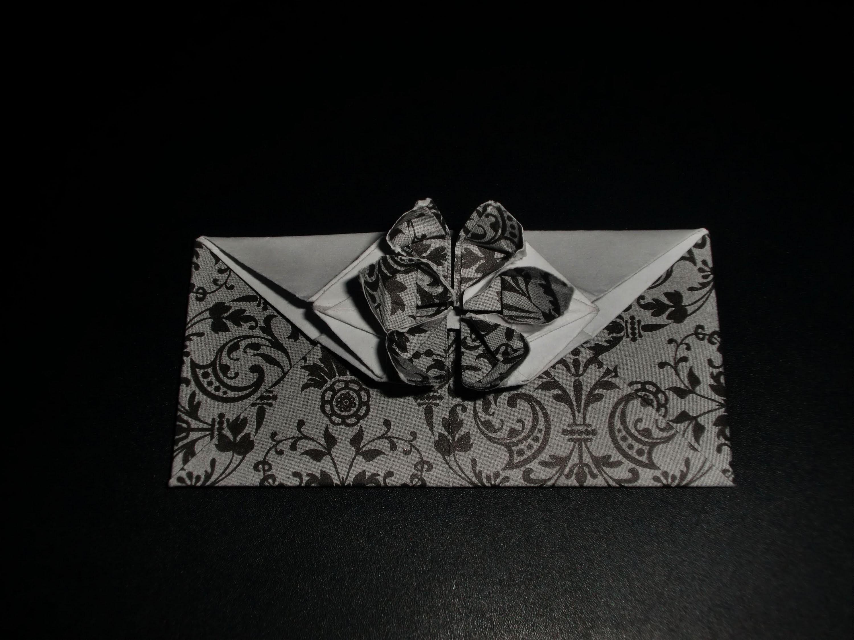 Origami Blume als Umschlag: Envelope-Flower - Tutorial [HD]