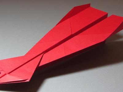 Papierflieger falten - Basteln mit Papier - Papierflugzeug bauen - Weltrekord | Amelie