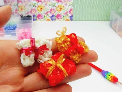 Rainbow Loom Present. Geschenk Charm. Anhänger Variante 2 Anleitung | deutsch