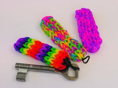 Schlüsselanhänger Rainbow Loom Keychains How To. Schlüsselanhänger gestalten deutsch