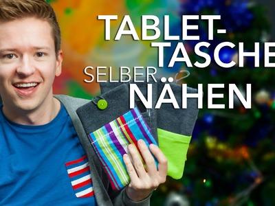 Tablet Hülle selber nähen - DIY-Sunday