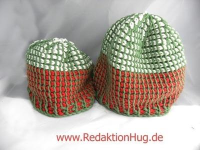 Tunesisch Häkeln - Mütze aus hatnut XL 55 - Veronika Hug