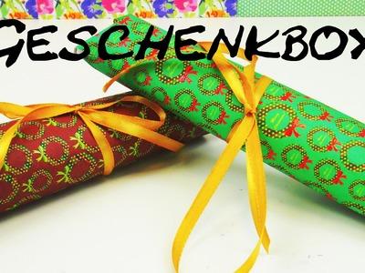 Weihnachts - Geschenkbox basteln DIY  Advent Geschenkidee Anleitung | deutsch
