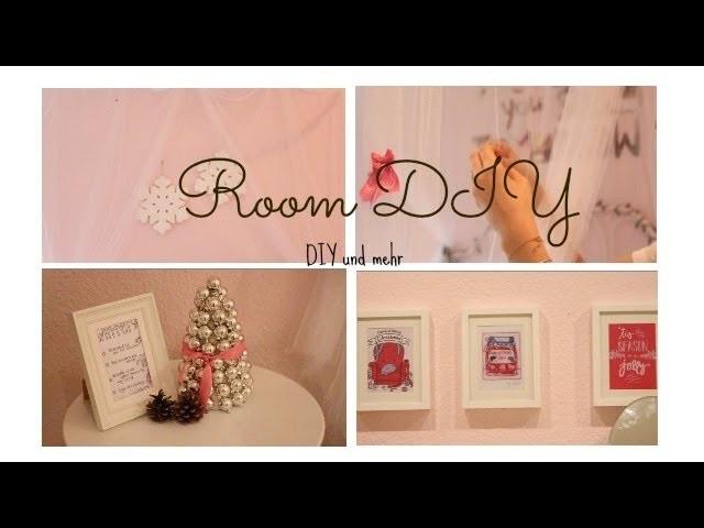 Zimmer Dekorieren DIY,Dekorieren für den Winter l mit Beautyspiegel