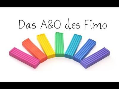 Das A&O des Fimo - Grundausstattung für Anfänger | Anielas Fimo