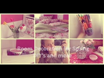 DIY Room Decorations for Spring & ROOM TOUR!! by BeautyIsBeautiful9 German