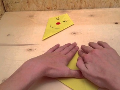 Drachen basteln - Bastelei aus Papier für Kinder