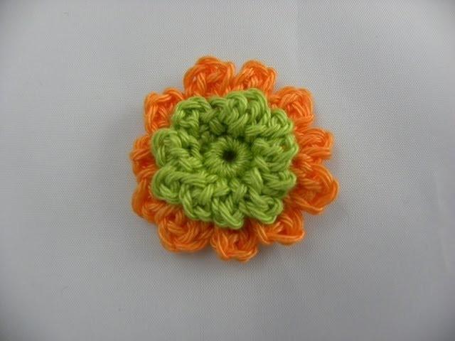 Häkeln lernen - Häkelblume leicht