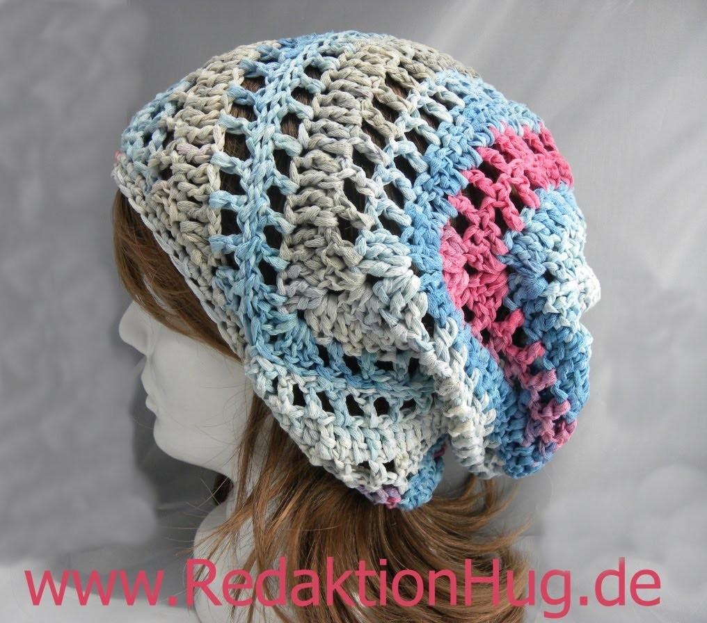 Häkeln - Triagon-Mütze aus Pastello von Pro Lana