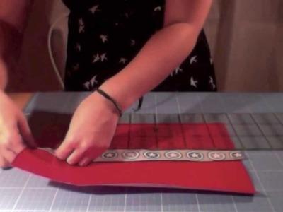 Nähanleitung Stifterolle aus Kunstleder oder Wachstuch SIY (SewItYourself)