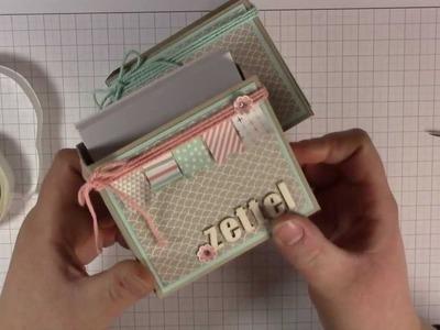 Tutorial: Zettelbox selber basteln - Stampin' Up!