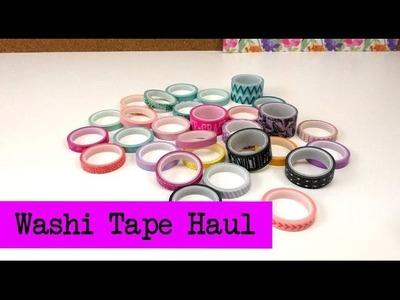 Washi Tape HAUL! Klebeband. Deko Klebeband. Buntes Klebeband Sammlung. Kathi kauft ein :)