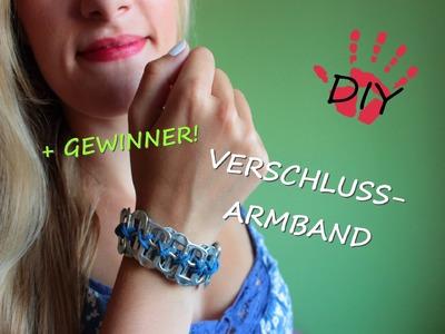 DIY- Armband aus Dosenverschlüssen + GEWINNER!