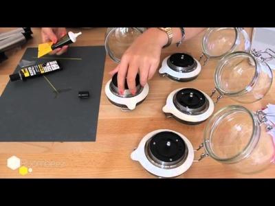 DIY: Leuchte to Go -- Solarlicht im Einmachglas