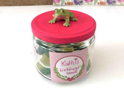 Glas verzieren - Süße Aufbewahrungsbox - Geschenkideen für die beste Freundin