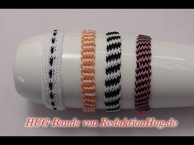 HUG-Bands Häkeln - Armband - Veronika Hug B - einfach