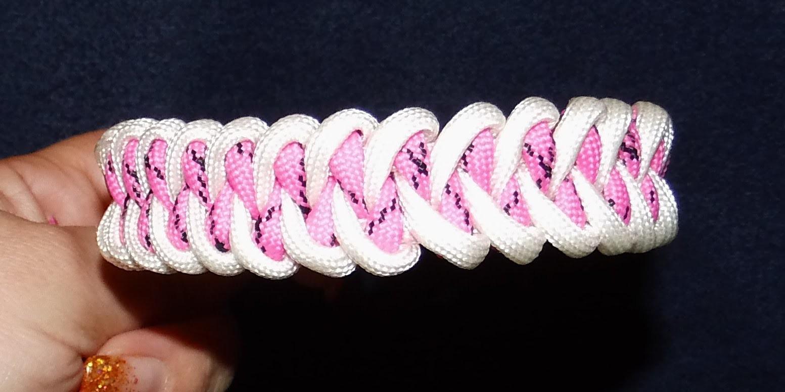 Anleitung für Paracord Piranha-Knot-Armband *D*