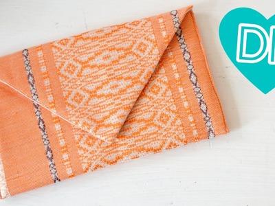 DIY Anleitung Envelope Clutch einfach selber nähen - Nähen für Anfänger