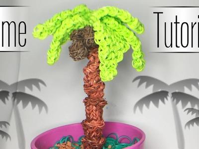 Rainbow Loom - 3D Palme  mit Kokosnuss