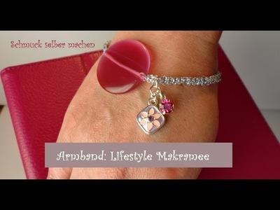 Schmuck selber machen: ARMBAND Lifestyle Makramee