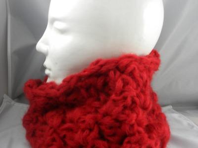 Häkeln - Schal ( Loop ) in hin- und hergehenden Runden aus der Style von Lang Yarns