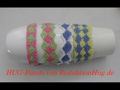 HUG-Bands Häkeln - Armband - Veronika Hug A