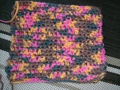 Ihr 1. Quadrat für ihre Patchwork Decke (Häkeln leicht gemacht)