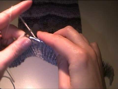 Kindermütze stricken 1 - Video Strickanleitung