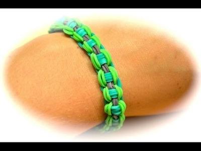 Rainbow Loom Fahrradketten Armband (deutsche Anleitung)