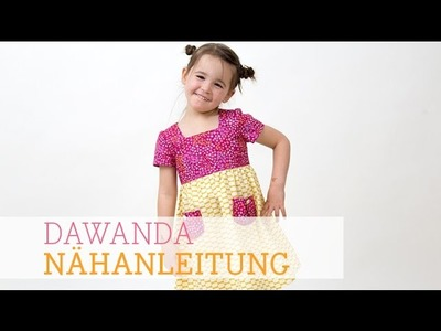 DaWanda Nähanleitung: Kinderkleid von pattydoo