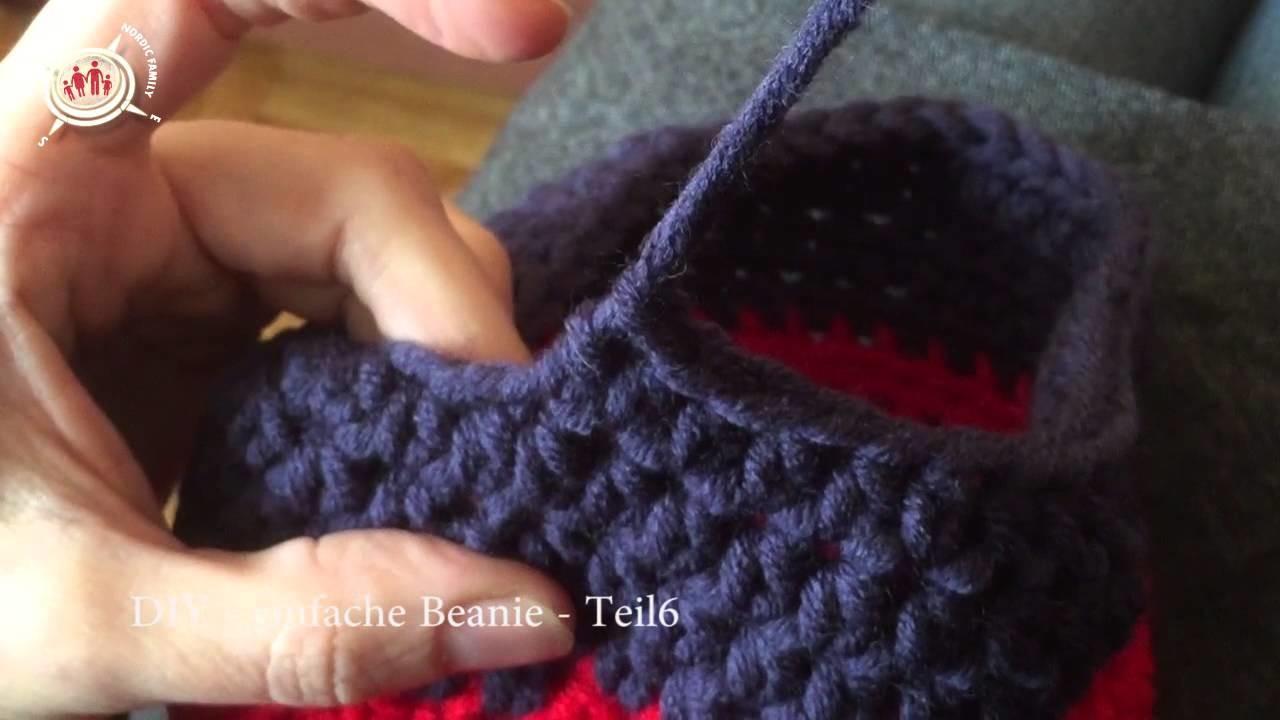DIY | Beanie selber häkeln | Teil 6 | Farbwechsel 2 und Finalisierung