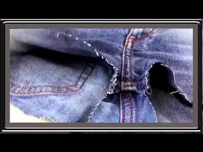 DIY jeans shorts deutsch   diy hotpants selber machen fashion kleidung upcycling