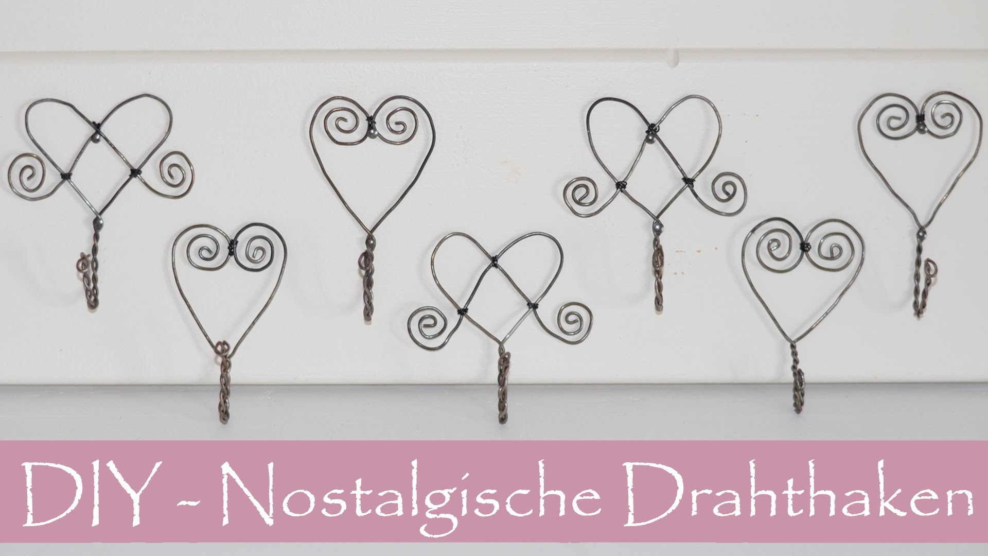 diy nostalgische haken aus draht luffarsl jd schwedische drahtbiegekunst my crafts and diy. Black Bedroom Furniture Sets. Home Design Ideas