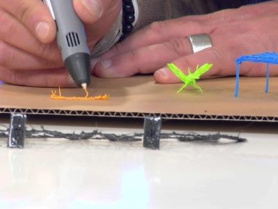 FreeSculpt 3D-Pen Drucker-Stift für Freihand-3D-Zeichnungen FX1-free